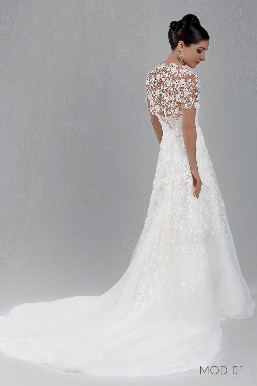 Mod.01 – Zea Couture – Abiti da Sposa 2