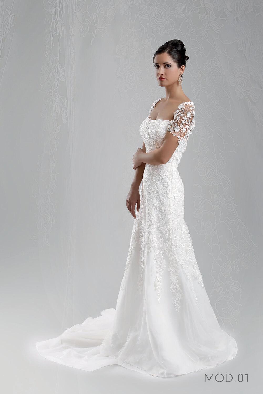 Mod.01 – Zea Couture – Abiti da Sposa