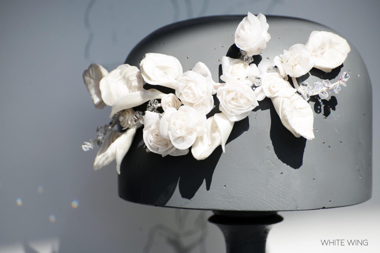 white wing - Decorazioni Floreali - Zea Couture Abiti da Sposa
